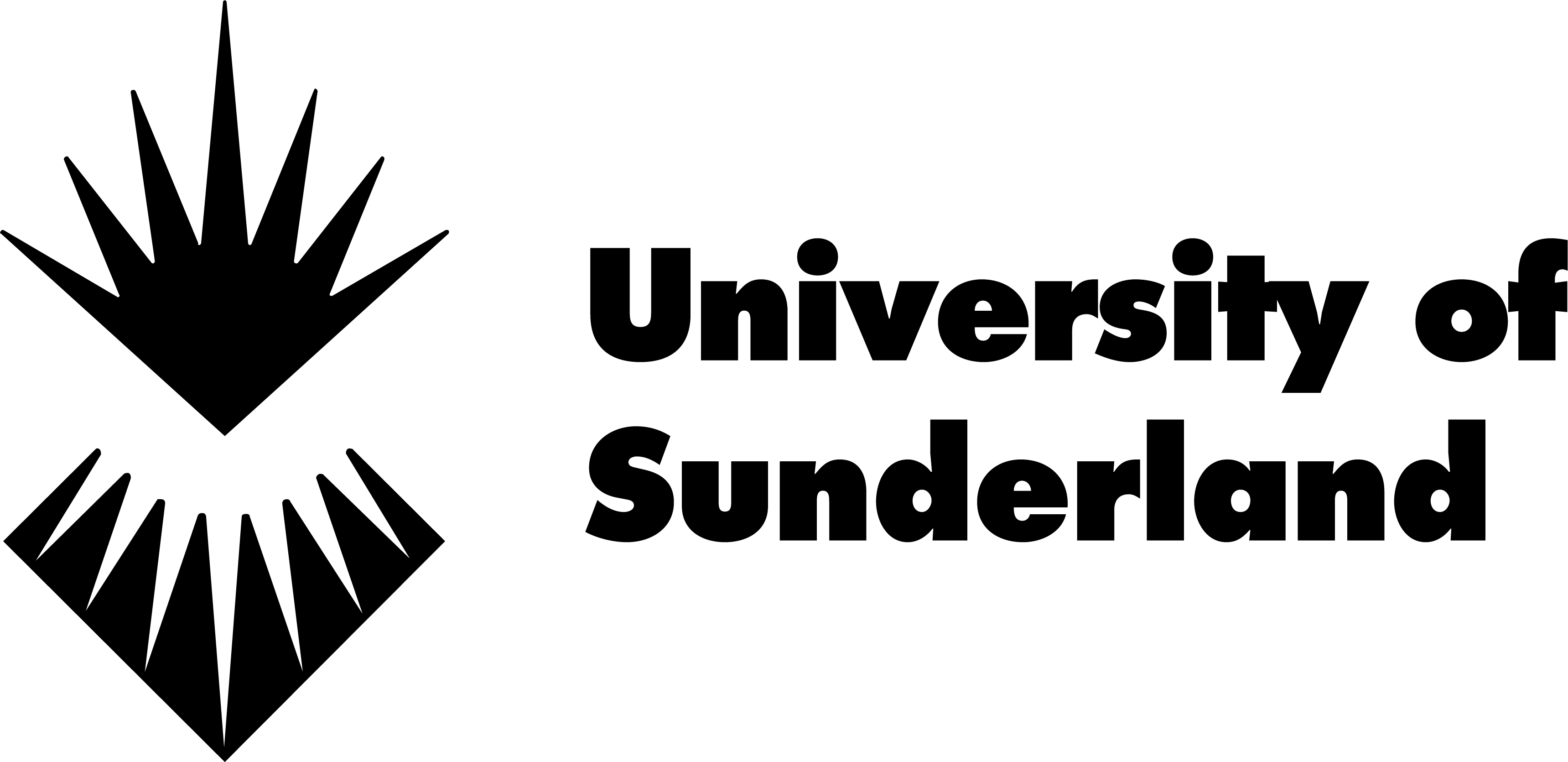 UoS Logo Sunderland Black high res